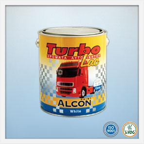 Alcon Turbo-Lac χρώματα οχημάτων μηχανηματων